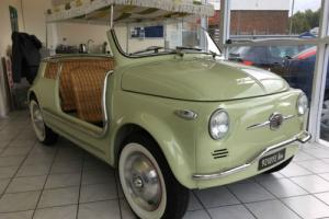 1958 Fiat 500 Jolly Photo