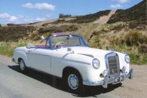 Mercedes-Benz 220S PONTON CONVERTIBLE RHD Photo