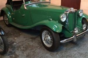 MG TD 50s LHD excellent condition. P/x considered