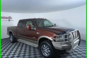 2006 Ford F-250 King Ranch 4x4 6.0L V8 TurboDiesel Crew Cab Truck