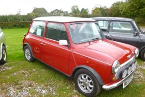 Classic Rover mini cooper 1994 needs a few jobs,low miles drives great.MOT jan17 Photo