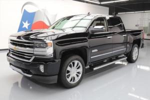2016 Chevrolet Silverado 1500 SILVERADO HIGH COUNTRY CREW 4X4 NAV 20'S