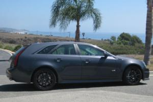 2013 Cadillac CTS V RARE Thunder Gray ChromaFlair Wagon Photo