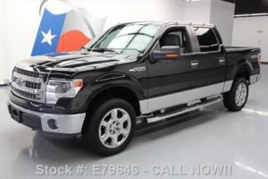 2014 Ford F-150 XLT CREW 4X4 REAR CAM LEATHER TOW