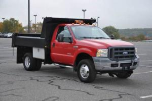 2005 Ford F-350 XL 4X4 Mason Dump 6.0L Powerstroke ONLY 84K