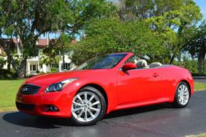 2013 Infiniti G37 2dr Convertible W/Premium Package
