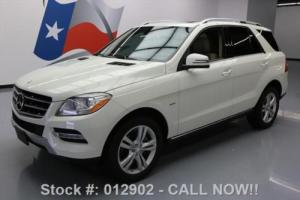 2012 Mercedes-Benz M-Class ML350 BLUETECATIC AWD DIESEL NAV