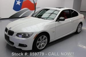 2013 BMW 3-Series 335I XDRIVE COUPE AWD M-SPORT SUNROOF NAV