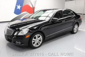 2011 Mercedes-Benz E-Class E350 LUXURY AWD P1 SUNROOF NAV