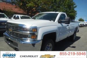 """2016 Chevrolet Silverado 2500 2WD Reg Cab 133.6"""" Work Truck"""