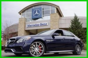 2014 Mercedes-Benz E-Class 2014 Mercedes-BenzE63 AMG 4MATIC S-Model Certified