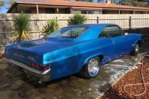 1966 Chevrolet Impala Super Sport SS Factory 396 Big Block Auto Not 1964 1965