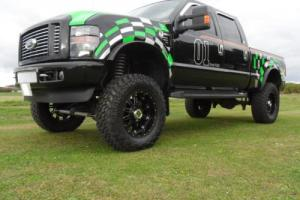 "2008 Ford F250 Harley Davidson Edition 4x4 6.4 Turbo Diesel 8"" suspension lift. Photo"