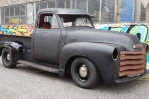 1950 chev pickup project truck hotrod ratrod custom ute chevy chevrolet rat rod