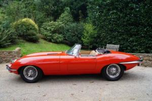 Jaguar E Type roadster RHD UK car. (last owner 23 years)
