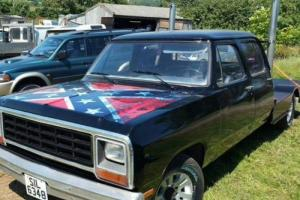 1980 Dodge ram pick up truck flat bed rare find one of kind