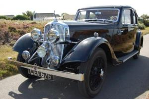 Extremely rare 1935 Rover Speed 14 Streamline Coupe Photo