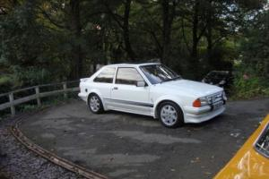 Escort RS Turbo series 1, restored, 3 owners. Extremely rare