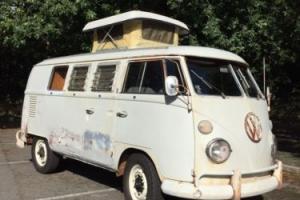 VW SPLITSCREEN WESTFALIA  SO42 TURRET TOP CAMPER Photo