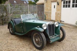 MG TC Restoration Project UK Car Matching Numbers
