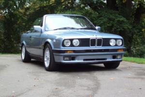 !1991 E30 (H) Genuine Bmw 325I Cabriolet Auto Glacier Blue ! *1 Family Owned*