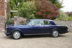 1979 Rolls Royce Corniche FHC
