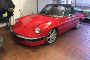 Alfa Spider 1989. RHD