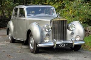 1954 Rolls-Royce Silver Dawn Automatic Saloon SPG11 for Sale