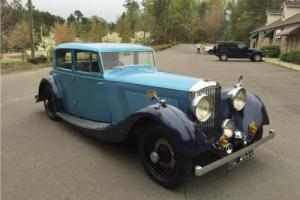 1935 Bentley 3.5 Photo