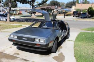 1981 DeLorean DMC 12
