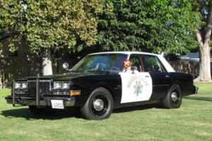 1988 Dodge CHP BLACK AND WHITE AHB POLICE PACKAGE