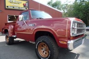 1979 Dodge Power Wagon Power Wagon Warlock II 4x4 Truck