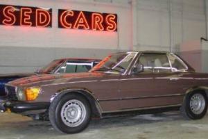 1979 Mercedes-Benz 200-Series Convertible
