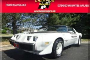 1980 Pontiac Trans Am Turbo Indy Pace Car