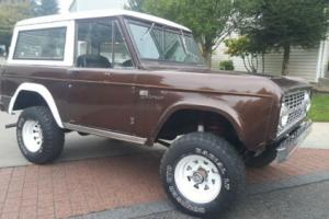 1967 Ford Bronco Sport 4X4 SUV