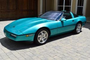 1990 Chevrolet Corvette ZR-1 Turquoise Metallic 3,500 Miles