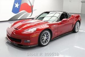 2010 Chevrolet Corvette ZR1 3ZR LS9 S/C 6-SPEED NAV HUD