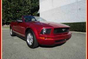 2006 Ford Mustang Premium Convertible Leather 44k MIles
