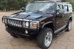 2003 Hummer H2 4WD AWD 4DR REAR SPARE RACK BIG WHEELS LOADED UP