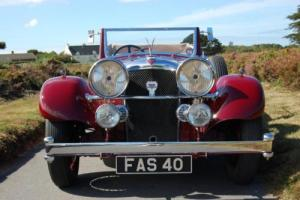 1934 Alvis Speed 20 SC Drop Head Coupe