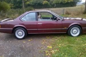 BMW 635CSI AUTO 1988 £14995ono