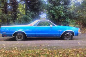 1980 Chevrolet El Camino 5.0 v8 Pickup Classic American Air Conditioning Photo