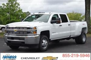 "2016 Chevrolet Silverado 3500 4WD Crew Cab 167.7"" Work Truck"