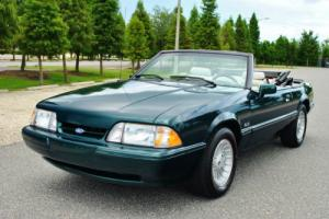 1990 Ford Mustang Convertible 7-Up Edition Rare! Only 13,985 Miles!