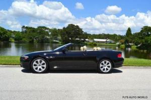 2006 BMW 6-Series 650i 2dr Convertible