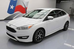 2015 Ford Focus SE SPORT SEDAN AUTO REAR CAM SPOILER