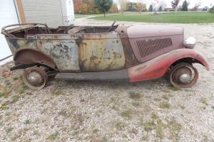 1934 Ford Other Phaeton Deluxe | eBay