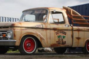 1964 Ford F100 Rat Shop Truck Fat Harry's Tiki Bar Fresh Built MOT'd Registered Photo