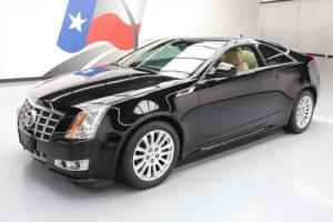 2012 Cadillac CTS 3.6 PERFORMANCE COUPE REAR CAM Photo