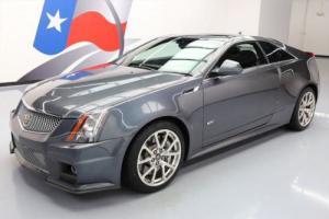 2011 Cadillac CTS V COUPE RECARO SEATS SUNROOF NAV